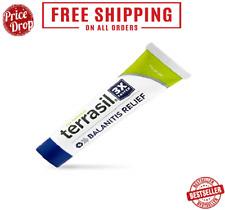 Terrasil Balanitis Relief - 100% d, Patented All-Natural, Gentle, Skin