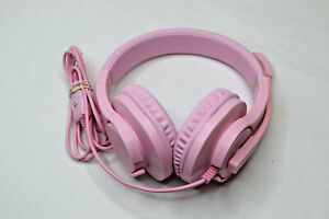 Gaming headset SL-300 with mic, Noise Cancelling Over Ear Headphones Pink
