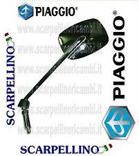 SPECCHIO SINISTRO SX CROMATO BEVERLY TOURER - MIRROR -SPIEGEL - PIAGGIO CM071904