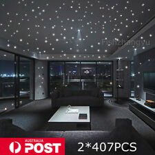 Glow In The Dark Stars Round Wall Stickers 407 Dots for Ceiling in Bedroom AU