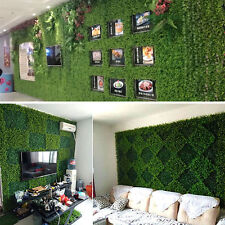 Fake Artificial Perfect Green Wall Vertical Screen Plants Hedge Ivy 60cmx40cm #