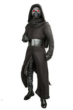 Kylo Ren Costume Force Awakens Star Cosplay Wars Villain Adult Outfit Any Size