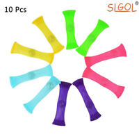 10Pcs Stress Relieve Toy, Focus Enhance, Soothing Marble Fidgets for Kid & Adult