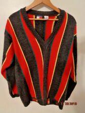 Vintage Tommy Hilfiger v-neck Wool Colorful Sweater Size Men's L Striped