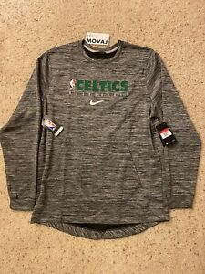 L Nike NBA Boston Celtics On Court Warm Up Player Issued Sweater NWT AV1378-032