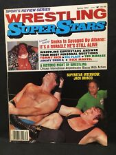 Wrestling Super Stars Magazine Spring 1983 WWE WWF WCW NWA AWA Pro Illustrated