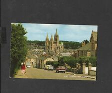J Salmon Vintage Colour Postcard Truro Cathedral From Chapel Hill-posted 1967