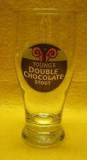 Young's Double Chocolate Stout Weizen-Style Beer Glass England