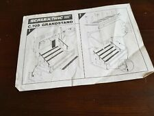 Scalextric Classic Leaflet Instructions  C701 Pit Stop C705 Grandstand (A)