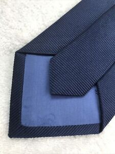 Turnbull Asser Tie 9 Cm Brand New Navy Blue