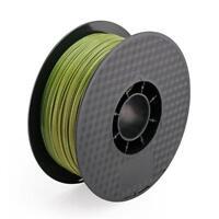 3D Printer PLA Filament 1.75 mm Spool Army Green Military Green 1.0 kg 2.2LBS