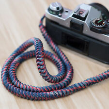 Handmade Nylon Rope camera strap for mirrorless and dslr a-mode fuji nikon sony