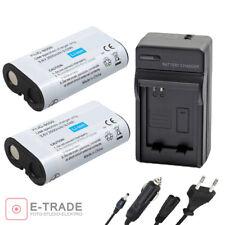 2x Battery + CHARGER Klic-8000 for Kodak Easyshare Z612 Z712 IS Z812 Z1012 Z1015