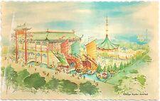 Hong Kong Pavilion, The Crown Colony Club 1964-5 NY World's Fair Chrome Postcard