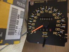 n°c8 compteur vitesse  renault r21 milles MPH 7701032489 neuf speedometer