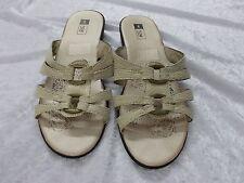Ex Condition Beige Sandals Size 8 (M1754)