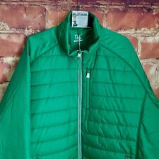 NEW Men's CUTTER & BUCK Spark Systems Packable Barlow Pass Jacket Loft Green 3XL