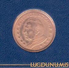 Vatican 2002 – 5 Centimes d'Euro – 65 000 exemplaires Provenant du coffret BU RA
