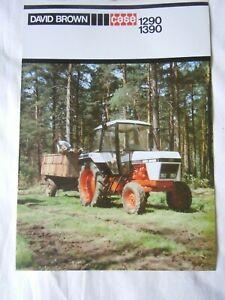 @David Brown Case 1290 1390 Tractor Brochure@