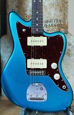 Fender USA American Professional Jazzmaster Blue Sparkle Metallic guitar - P90