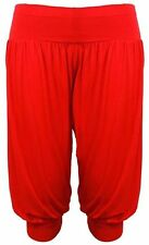 Ladies 3/4 Alibaba Harem Baggy Trouser Shorts Women Cropped Summer Pant 8-22