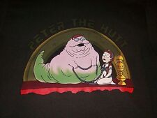 STAR WARS Family Guy Peter the Hutt Slave Leia Brown T-SHIRT Men's Small New