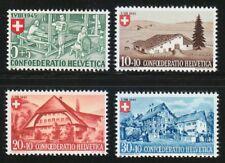 Switzerland 1945 MNH Mi 460-463 Sc B146-B149 Mountain Houses.