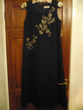 KALEIDOSCOPE LONG EMBROIDERED DRESS size 14 BNEW