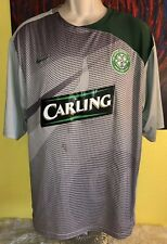 Men s Nike Fit Dry Celtic Football Club Soccer Jersey Size XL Grey   Green 73181f77ac69d