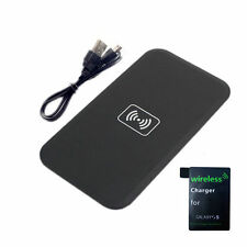 Wireless Charging Pad & Receiver for Samsung Galaxy S5 SV I9600 Power Charger QI