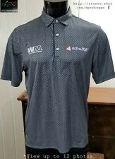 Greg Norman ML75 -Charley Hoffman Waste Management- Golf Tour Polo Shirt M *Note