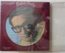 BUDDY HOLLY – PORTRAIT IN MUSIC #2 PICTURE DISC - SEALED LP & DISPLAY MOUNTING