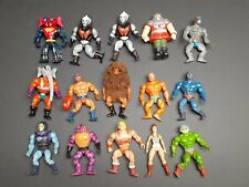 Lot of 15 Vintage 1980's MOTU Masters of the Universe Figures He-Man Mexico