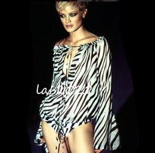 Gucci by Tom Ford 1996 Runway Ad Bikini & Off The Shoulder Sheer Top
