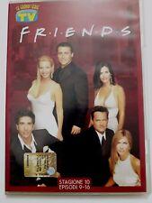 DVD Film Friends Le grandi serie Tv Sorrisi e Canzoni Stagione 10 Episodi 9-16
