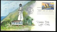 Fogt Hawaii Lighthouse Sc. 2080 - Diamond Head