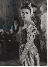 "Helena Bonham Carter ""La Maschera"" Autogramm signed 13x18 cm Bild s/w"