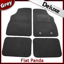 FIAT PANDA Mk2 2003-2012 1300 G di lusso su misura tappetini auto moquette grigio