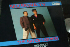 "MOSKWA TV The Art of Fashion Maxi Single 12"" RECORD GERMAN IMPORT"