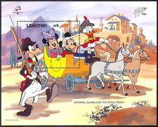 Lesotho 1989 Disney/Horses/Coach/Transport/Philexfrance/Military m/s ref:s5540