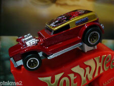 2011 Hot Wheels Masters Universe DOUBLE DEMON DELIVERY☆Gold/red☆Real Rider☆loose