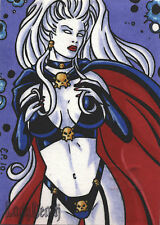 5FINITY LADY DEATH SKETCH CARD BY ELAINE PERNA DE