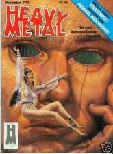 Heavy metal # 1982/11 (bilal, Corben, Manara) (Estados Unidos)