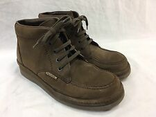 MEPHISTO AIR-JET BROWN SUEDE LEATHER Mens 7 CHUKKA LOW ANKLE BOOTS Shoes FRANCE