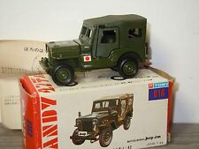 Mitsubishi Jeep J3R Army Car - Tomica Dandy 016 Japan 1:42 in Box *30424