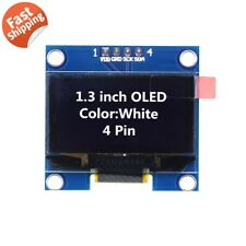 "1.3"" SSD1106 I2C 128X64 OLED Display Module Board For Arduino White US Seller"