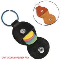 chaîne porte - clés la valise noire faux cuir plectrum sac médiator titulaire