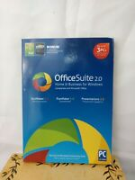 ENCORE OFFICE SUITE 2.0 - Home & Business for Windows + Logo Design Pro LE - NEW