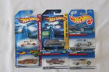 Hot Wheels Cars Assorted 1950's Cars Toys Set of 6 Collectible 07-09