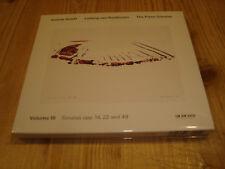 ANDRAS SCHIFF Beethoven Klaviersonaten Vol.3 ECM CD 1943 NEW Signed NEU Signiert